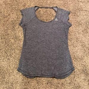 Reebok grey athletic top